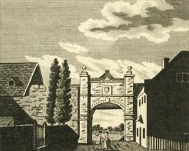 'Wincheap Gate, at Canterbury', c1786. Creator: Unknown.