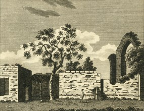 'St. Pancrace Chapel, at Canterbury', c1786.  Creator: Unknown.