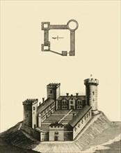 Cambridge Castle, c1783. Creator: Unknown.