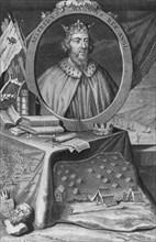 King Alfred, 1733. Creator: George Vertue.