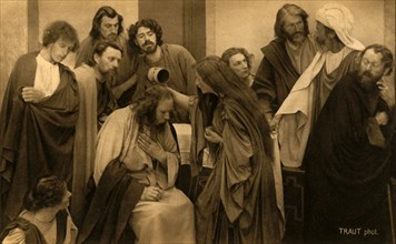 The Anointing, 1922.  Creator: Henry Traut.