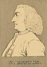 'N. Cotton', (1707-1788), 1830. Creator: Unknown.