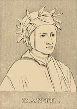 'Dante', (c1265-1321), 1830. Creator: Unknown.