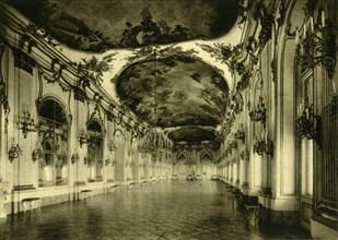 The Great Gallery, Schönbrunn Palace, Vienna, Austria, c1935. Creator: Unknown.