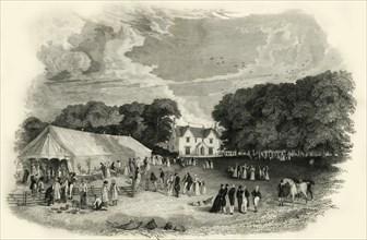 'Beechlands, Newick', 1835. Creator: John Henry Hurdis.