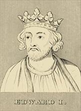 'Edward I', (1239-1307), 1830. Creator: Unknown.