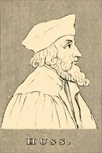'Huss',  (c1369-1415), 1830. Creator: Unknown.
