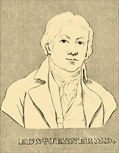 'Edward Jenner M.D.', (1749-1823), 1830. Creator: Unknown.