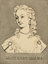 'Lady Montague', (1689- 1762), 1830. Creator: Unknown.