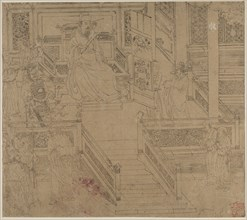 Album of Daoist and Buddhist Themes: Kings of Hells: Leaf 29, 1200s. Creator: Unknown.