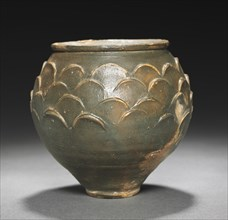 Beaker with Scale Pattern, 1-100. Creator: Unknown.