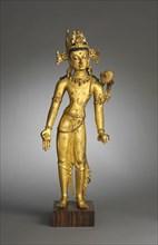 Bodhisattva of Wisdom (Manjushri),, 1400s. Creator: Unknown.
