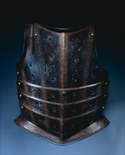 Breastplate from Hussar's Cuirass, c. 1580. Creator: Unknown.