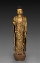 Buddha of Infinite Life and Light (Amida Nyorai), 1269. Creator: Koshun (Japanese); Koshin (Japanese), assistant ; Joshun (Japanese), assistant.