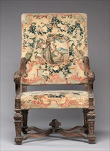 Chair, before 1717. Creator: Royal Savonnerie Manufactory, Chaillot Workshops (French, est. 1627).