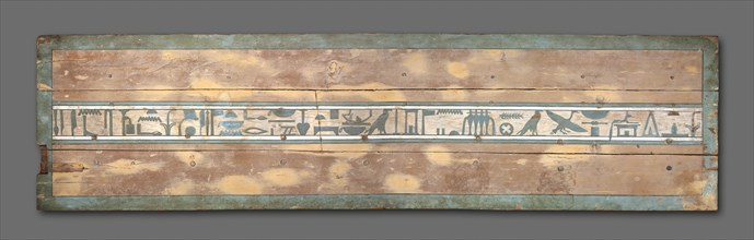 Coffin of Senbi (Lid), 1918-1859 BC. Creator: Unknown.