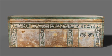Coffin of Senbi, c. 1918-1859 BC. Creator: Unknown.