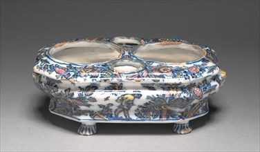 Cruet Set, c. 1740. Creator: Héraud- LeRoy Factory (French).