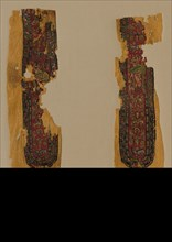 Decorations and Sleeve from a Tunic, 700s. Creator: Unknown.