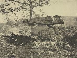 Dolmen, Cap del Puetch, Ariège, France, c. 1865-1869. Creator: Arthur A. Taylor (French, 1873).