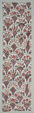 Fragment of Woodblock Printed Cotton, c. 1775. Creator: Unknown.