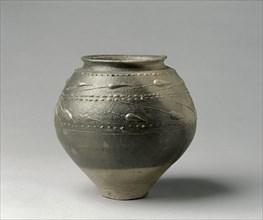 Globular Pot, 25-50. Creator: Unknown.