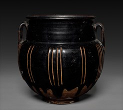 Jar with Handles and Vertical Ribs, 1271-1368. Creator: Unknown.