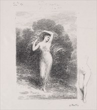 La jeune Malade. Creator: Henri Fantin-Latour (French, 1836-1904).