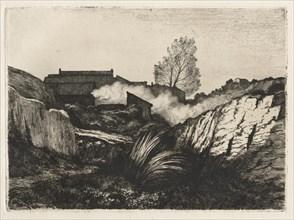 LEstaque, 1878. Creator: André Paul Borel (French, 1828-1912).
