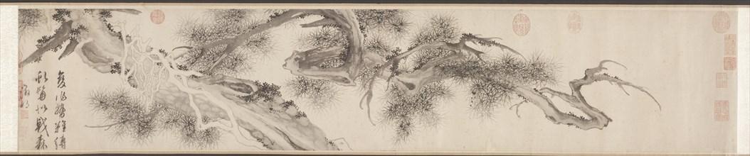 Old Pine Tree, late 1530s. Creator: Wen Zhengming (Chinese, 1470-1559).