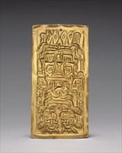 Plaque, c. 500-200 BC. Creator: Unknown.