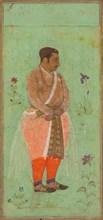 Portrait of Suraj Singh Rathor, Raja of Marwar and Maternal Uncle of Shah Jahan..., c. 1600. Creator: Bishandas (Indian, active c. 1610-30), attributed to.