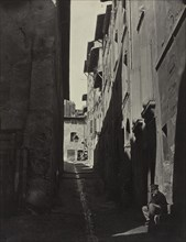 Renovation of the Old City of Marseille, Rue Caves de lOratoire, 1862. Creator: Adolphe Terris (French, 1820-1900).
