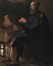 Saint Peter Repentant, 1645. Creator: Georges de La Tour (French, 1593-1652).