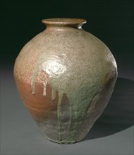Storage Jar: Tamba Ware, 1400s. Creator: Unknown.