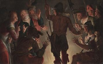 The Denial of Peter, c. 1624-1628. Creator: Peter Wtewael (Dutch, 1596-1660).