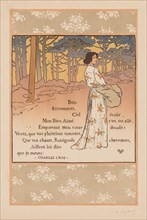 Trembling Woods, 1893. Creator: Georges Auriol (French, 1863-1938); L'Estampe originale, Album II.