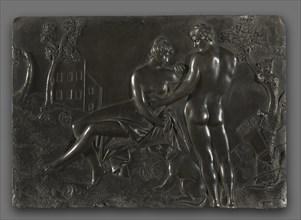 Venus and Adonis, mid-1700s. Creator: Georg Raphael Donner (Austrian, 1693-1741), follower of.