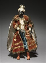 Figure from a Crèche: Negro Magus, 1780-1830. Creator: Unknown.