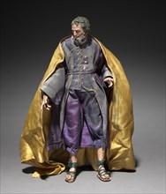 Figure from a Crèche: Joseph, 1780-1830. Creator: Unknown.