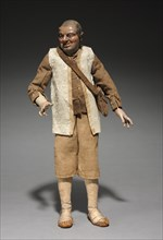 Figure from a Crèche, 1780-1830. Creator: Unknown.