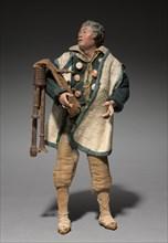 Figure from a Crèche: Piper, 1780-1830. Creator: Unknown.