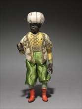 Figure from a Crèche: Attendant of the Magi, 1780-1830. Creator: Unknown.
