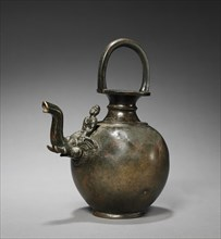 Ewer with Spout in the Form of an Elephant with a Mahut, c. 1st Century. Creator: Unknown.