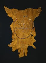 Replica of a Drypainting (Iikaah) after a drypainting by Tsi-tcaci, late 1800s-early 1900s. Creator: Unknown.
