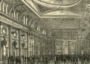 'Interior of the Royal Exchange', 1898. Creator: Unknown.