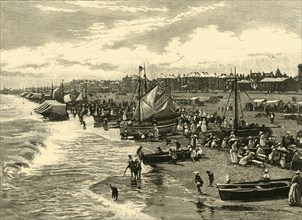 'The Beach, Yarmouth', 1898. Creator: Unknown.