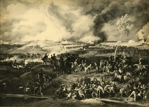 The Battle of Borodino, 7 September 1812, (1921). Creator: Unknown.