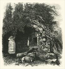 'Archway, Kenilworth Castle', c1870.