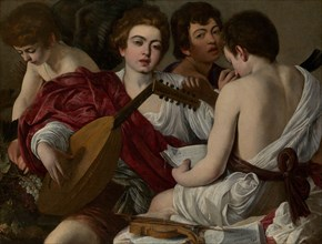 The Musicians, 1597. Creator: Michelangelo Caravaggio.